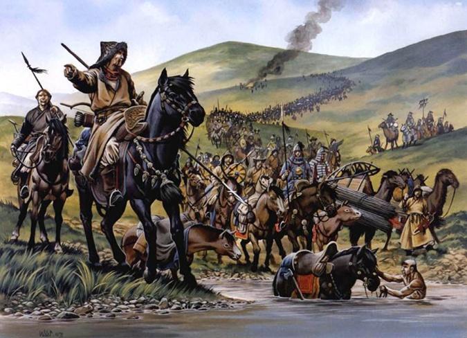 какое количество нукеров-полководцев было у чингисхана