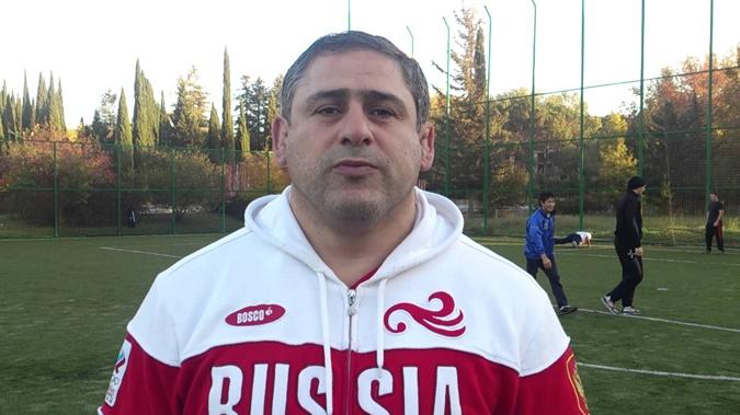 Главный тренер команды сборной России по греко-римской борьбе Гоги Когуашвили.