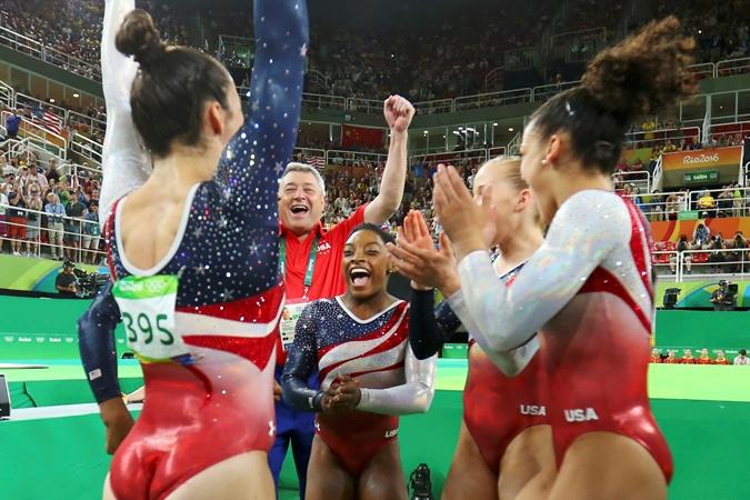 Байлз запомнилась в Рио не только своим мастерством, но и эмоциональностью.