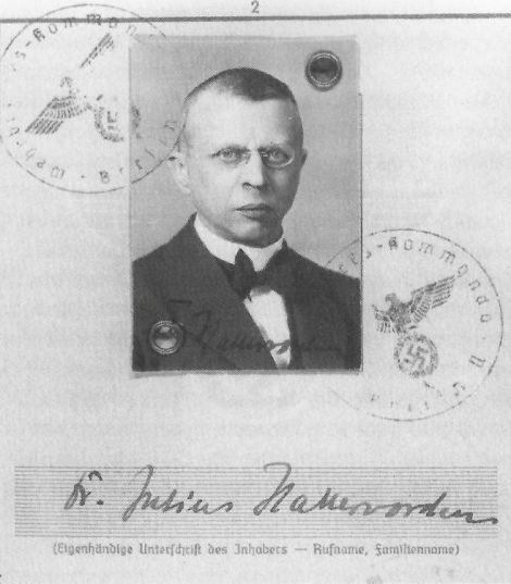 Галлерворден в 1945 году.