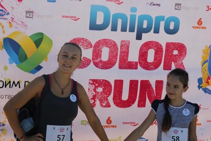 Мама Таня с дочерью Софией впервые участвовали в подобном забеге.