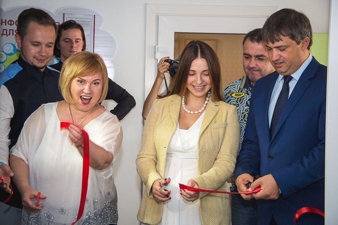 Дочь Тимошенко посетила благотворительное мероприятие.