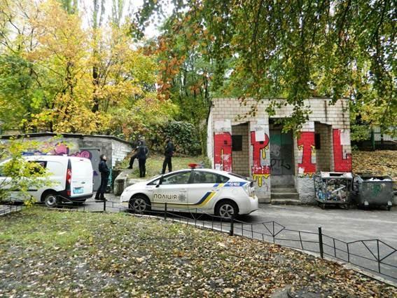 ВКиеве около детской площадки отыскали гранату