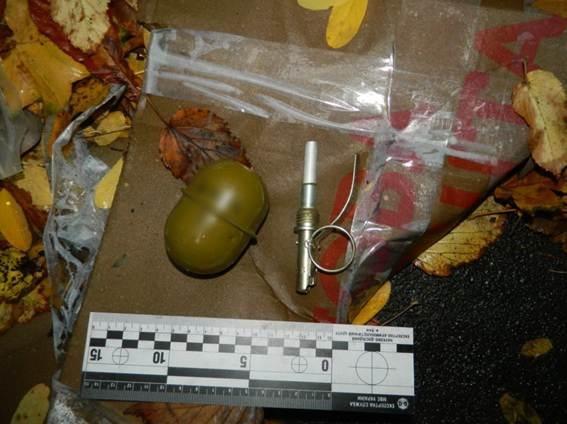 Встолице боеприпас был найден надетской площадке