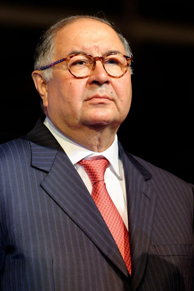 Алишер Усманов - основатель USM Holdings.