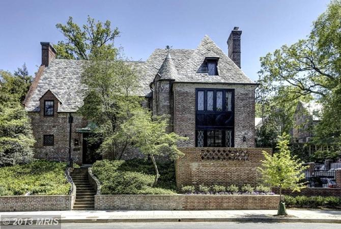 В этом доме, предположительно, будет жить Барак Обама после окончания срока.