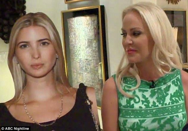 36-летняя Дженни Стюарт сделала бюст и нос, как у Иванки.