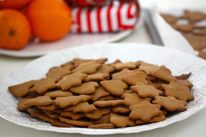 Шведское новогоднее печенье рецепт