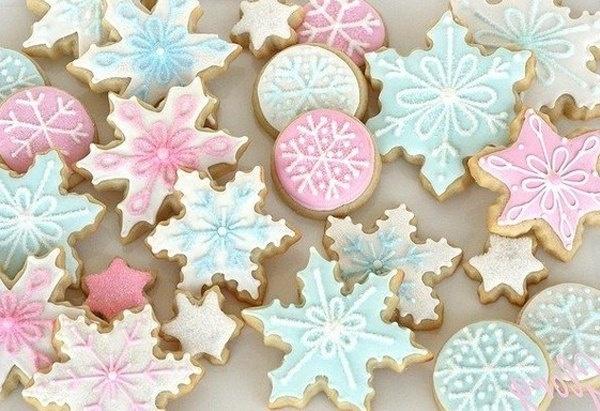 Рождественское масляное печенье рецепт