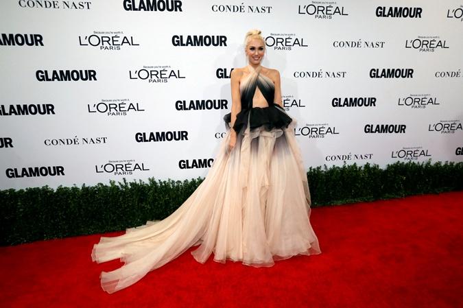 Парад звезд напремии «Женщина года» американского Glamour
