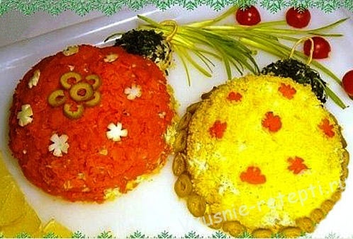 Салат елочный шар рецепт