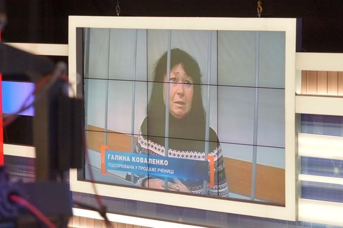 Видео,  на котором Галина Коваленко рассказывает что не могла желать зла девочке. Фото: пресс-служба