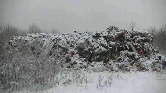 Сор изЛьвова скинули около фермы вСумской области