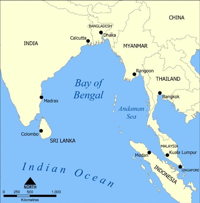 В Бенгальском заливе обнаружена огромная мертвая зона фото 1