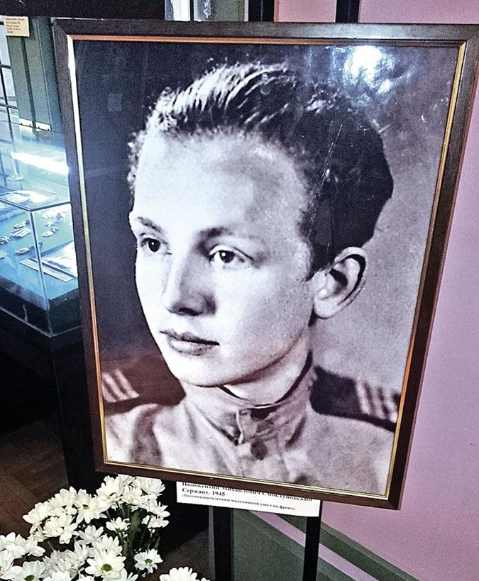 Юный сержант Смоктуновский. Иннокентий ушел на войну 16-летним. Фото: Анастасия ПЛЕШАКОВА