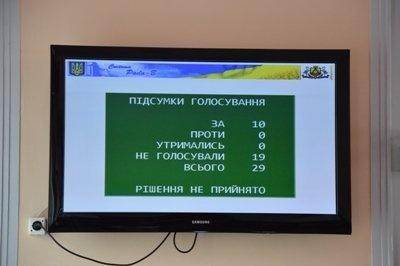 Кировоградские депутаты отказались менять название горсовета наКропивницкий