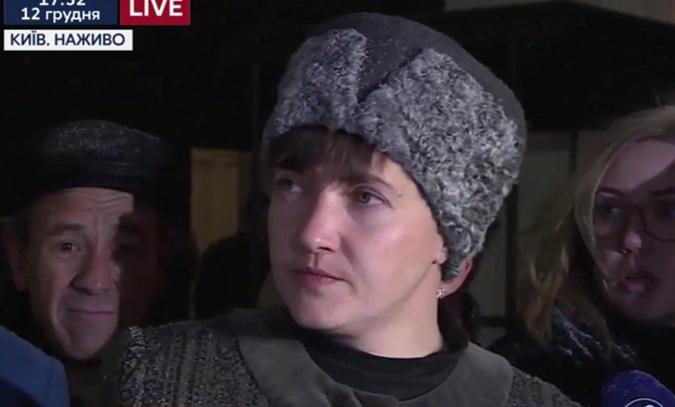 Савченко заявила, готова разговаривать