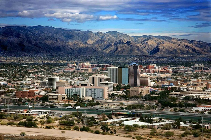Тусон, Аризона. Фото: americancities.ru