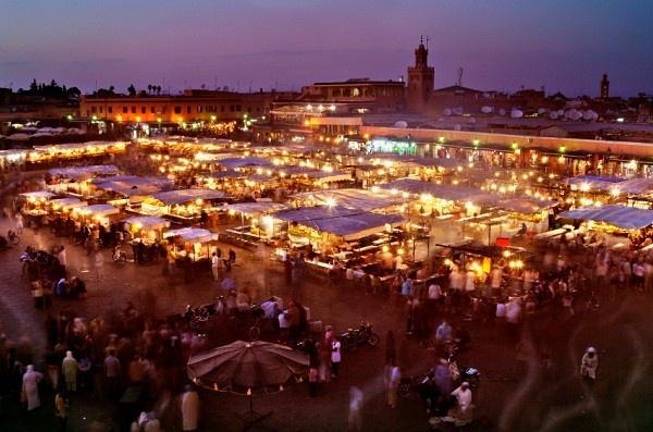 Марракеш, Марокко. Фото: inspiringtravellers.com