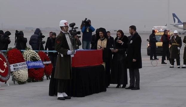Прощание с Андреем Карловым в Анкаре.