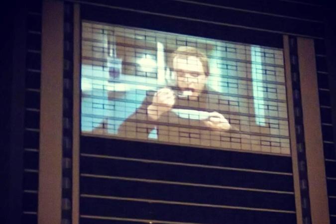 Запорожцы смотрели запрещенную вгосударстве Украина комедию настене дома