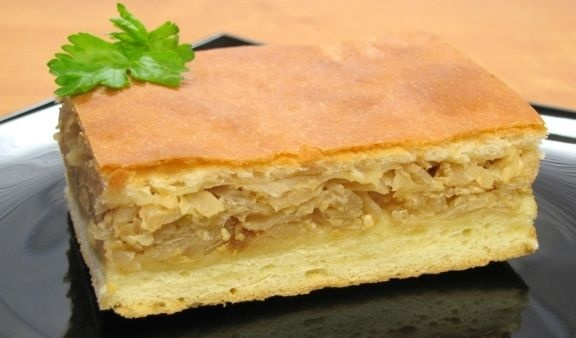 Капустный пирог рецепт