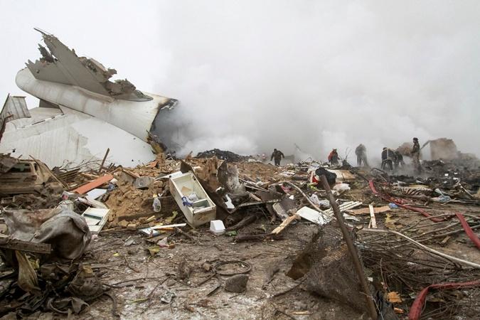 Фото дачного поселка в Киргизии, на который рухнул самолет фото 4