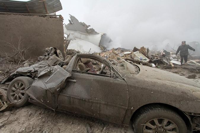 Фото дачного поселка в Киргизии, на который рухнул самолет фото 5