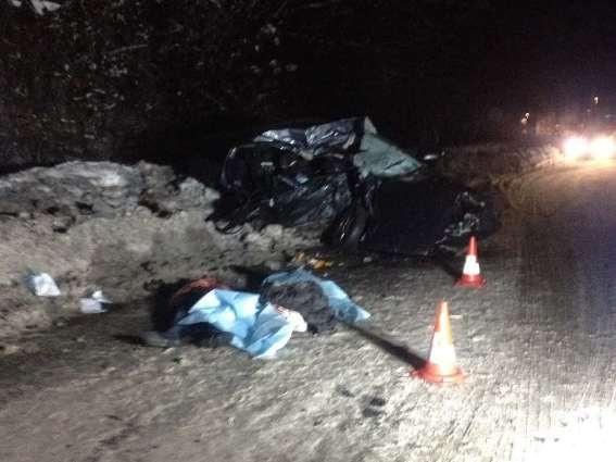 НаЗакарпатье столкнулись два авто, 3 человека погибли