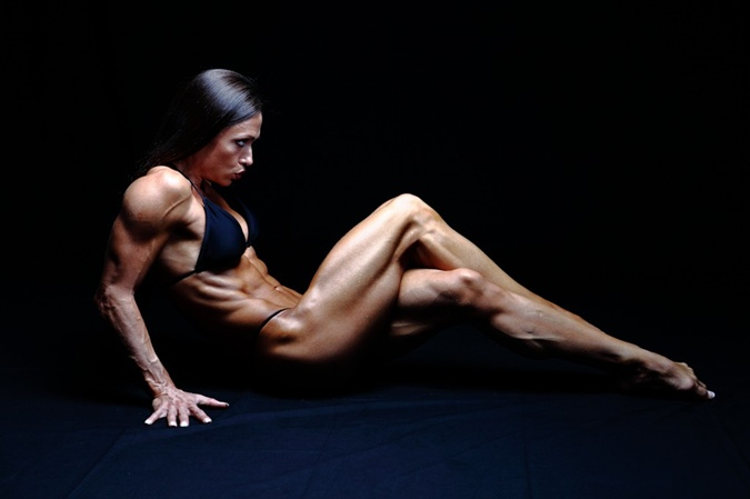 Королева красоты мира фитнеса - Оксана Гришина. Фото:
