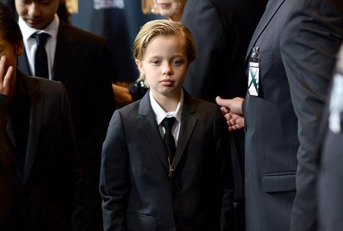 Дочь Джоли и Питта Шайло.