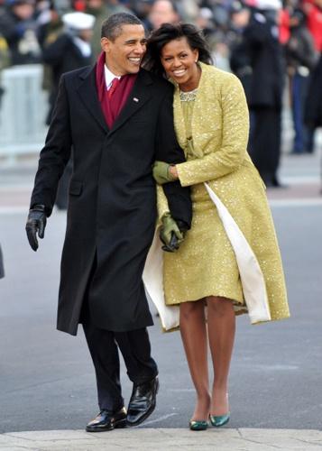 Мишель Обама на инаугурации в 2009 году. Фото: REUTERS