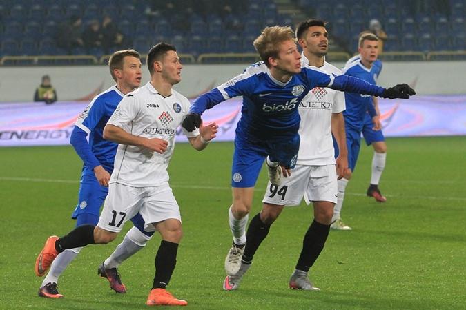 Игрок бельгийского «Стандарда»: Валерий Лучкевич