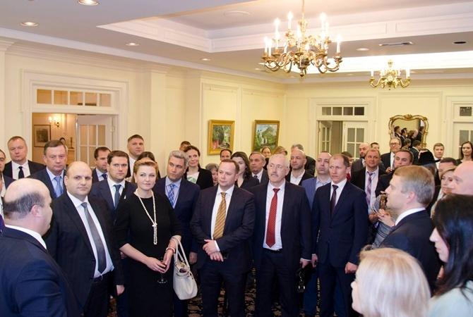 Украинцы встретились с местной общиной в США.
