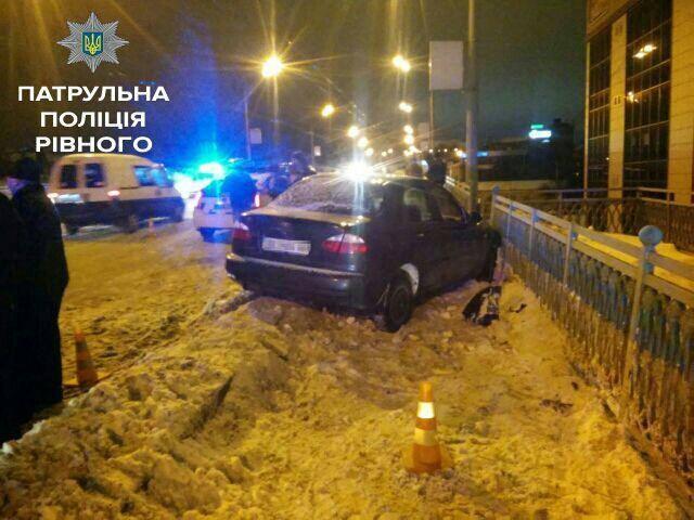 В Ровно три пьяные девушки угнали