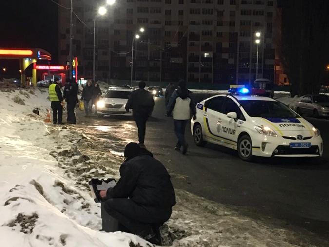 Из-за блокады наДонбассе вХарькове произошла стрельба
