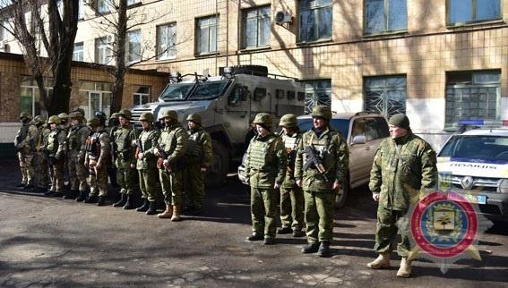 В Авдеевку отправили спецназ КОРД фото 2