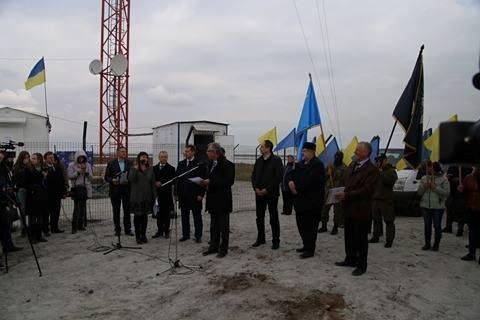 В Чонгаре открыли вышку, которая позволит вещать в Крым фото 1