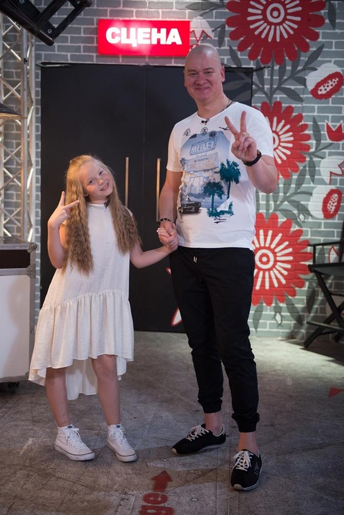Старшая дочь Кошевого Варвара тоже телезвезда - она выступила и в проекте