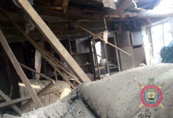 Разрушены 18 домов. Фото: dn.npu.gov.ua