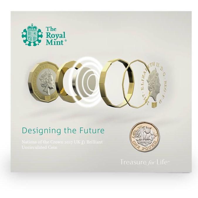 ВСоединенном Королевстве Великобритании поступают вобращение «граненые» монеты