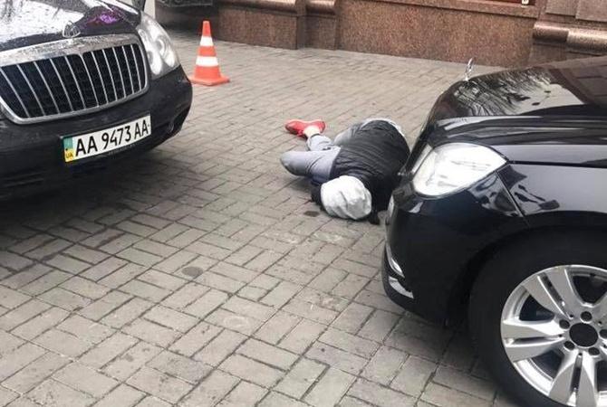 МВД называет киллером Павла Паршова.