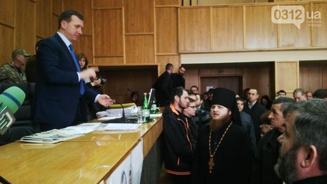 ВУжгороде подрались народные избранники горсовета
