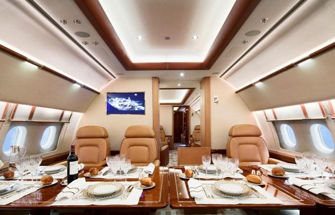 Салон Airbus Corporate Jet 319.