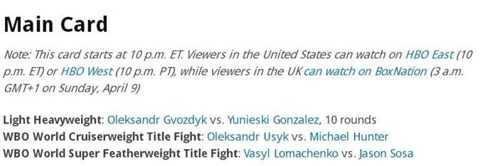 Тройной украинский удар в США: когда и где смотреть бои Усика, Гвоздика и Ломаченко фото 2
