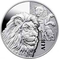 Нацбанк ввел в обращение серебряную монету со львом фото 2