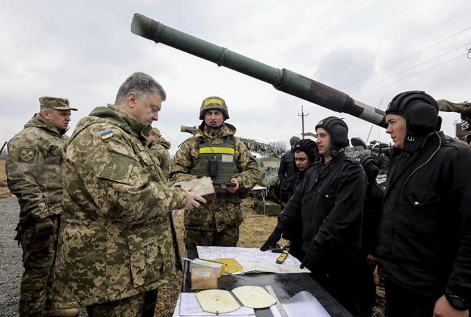 Как Порошенко съездил в Луганскую область фото 2