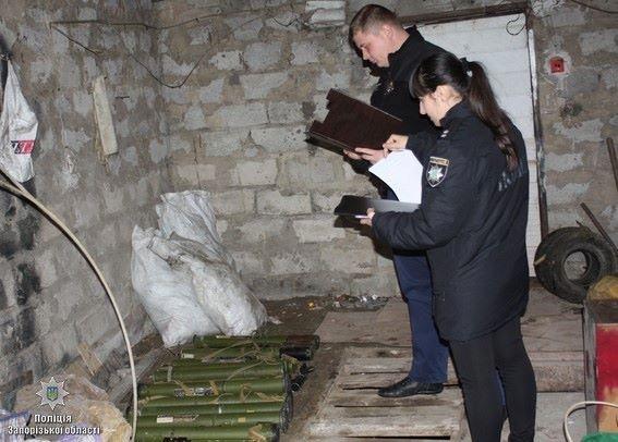 Вот это разжился! Запорожец сдал милиции найденные впосадке пятнадцать противотанковых гранатометов