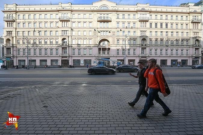 Квартира в историческом доме досталось 19-летнему сыну Вороненкова.