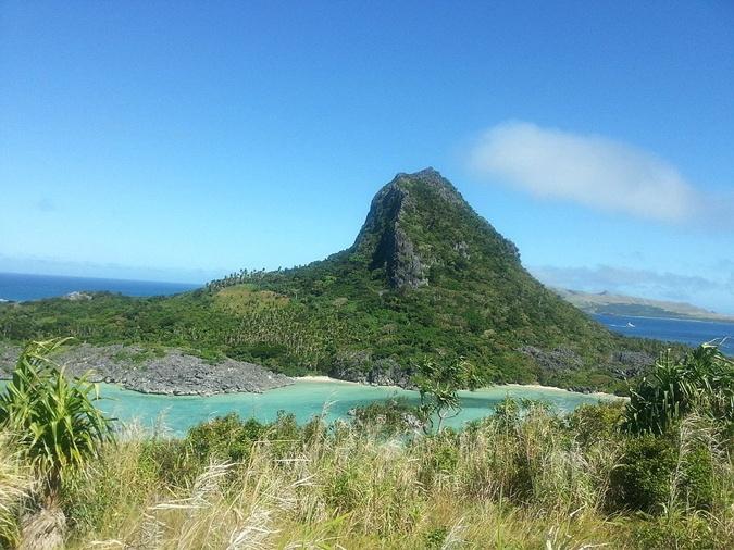 Вид острова Нануя Леву.